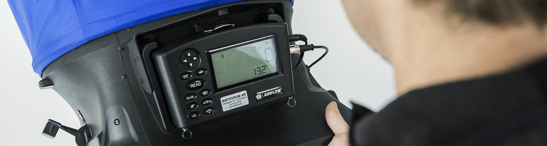 Ett väl injusterat ventilationssystem är en viktig förutsättning för en effektiv energianvändning. I samband med installation eller ombyggnad av ett ventilationssystem ska alltid en injustering göras. Injustering och luftflöden kontrolleras sedan regelbundet i samband med de obligatoriska ventilationskontrollerna (OVK)